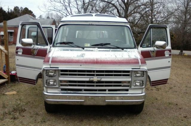 Chevy G20 Conversion Van Interior
