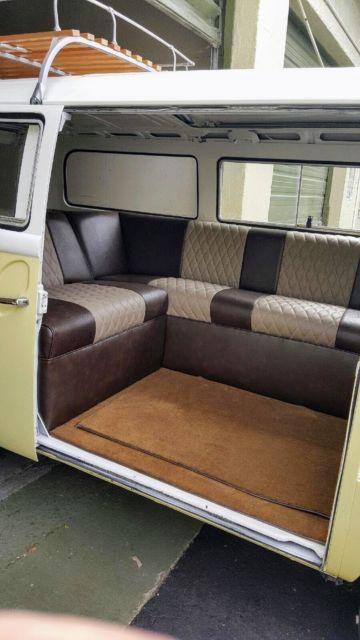 Brown Interior Car