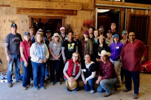 group at the stables