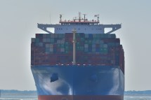 Aankomst Cosco Shipping Universe 23-07-'18-27