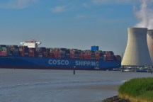 Aankomst Cosco Shipping Universe 23-07-'18-34