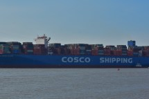 Aankomst Cosco Shipping Universe 23-07-'18-45