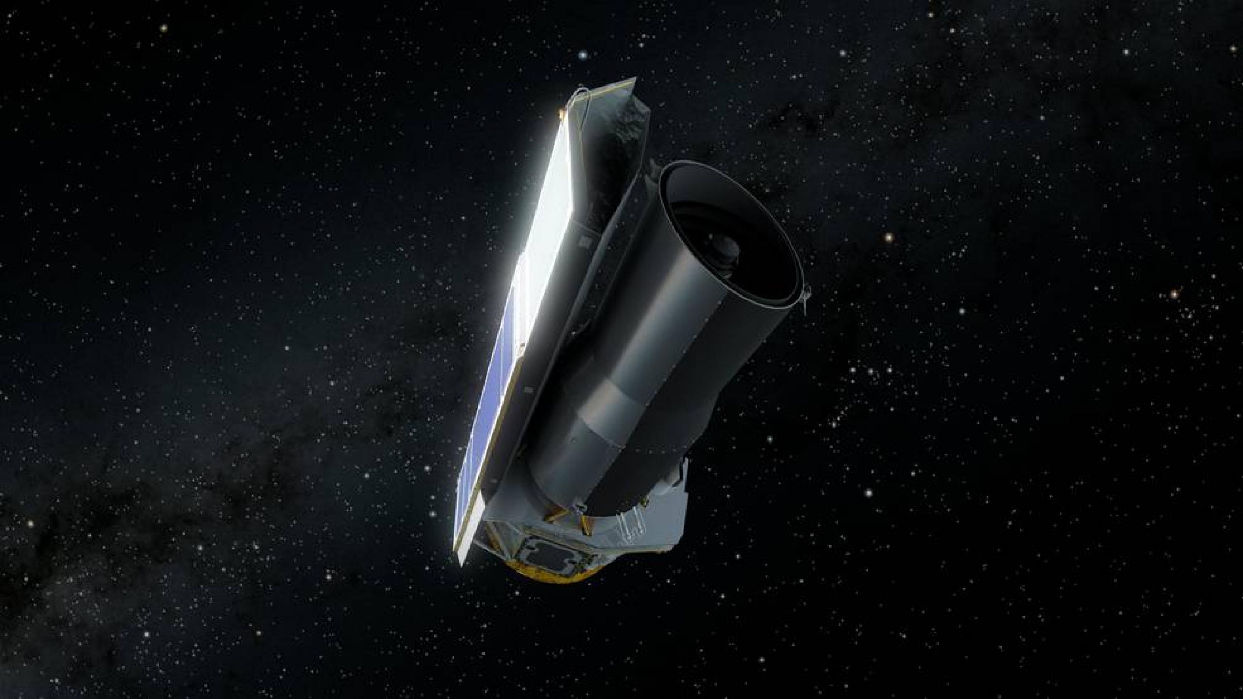 El telescopio espacial Spitzer de la NASA concluye su ...