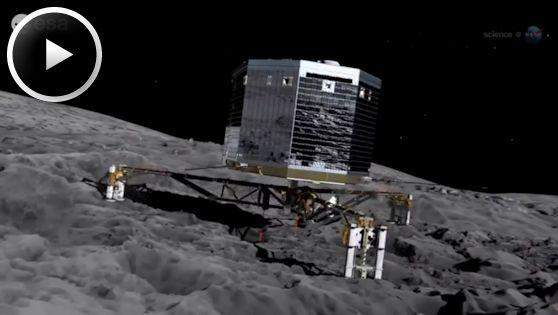 Rosetta Comet Comes Alive | Science Mission Directorate