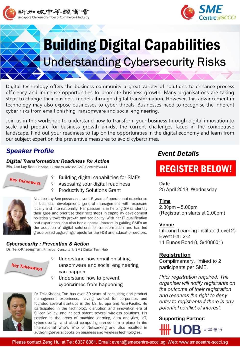 Digital Cybersecurity Workshop