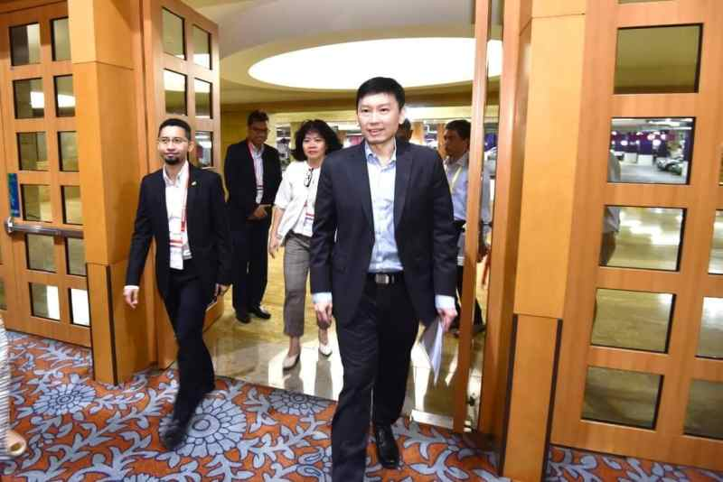 Arrival of GOH SMS Chee Hong Tat