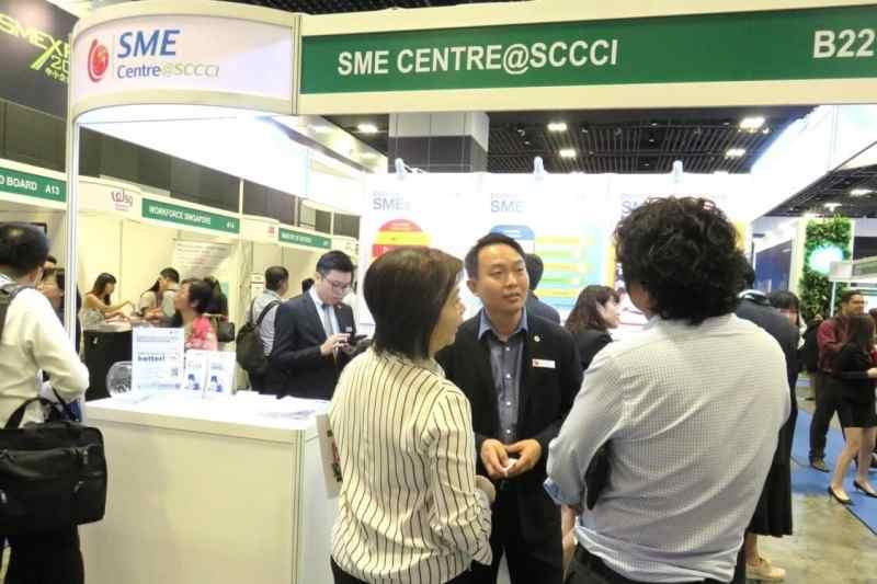 SME Centre@SCCCI Booth