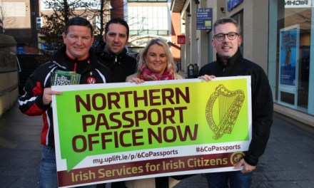 Growing support for Irish passport office in the North – ÓDonnghaile | An Phoblacht