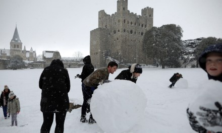 London Weather: Photos of Snow in the UK | Fortune.com