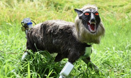 Robotic wolf guards Japanese crops | The Week UK