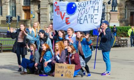 Scottish Youth Theatre chief: 'We are saving young people' | Scotland | The Sunday Times