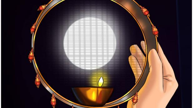 Image result for karwa chauth