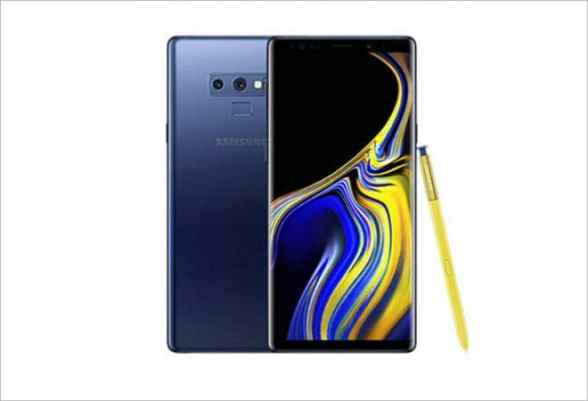 Samsung Galaxy Note 9 Key Specs and 128GB built-in storage