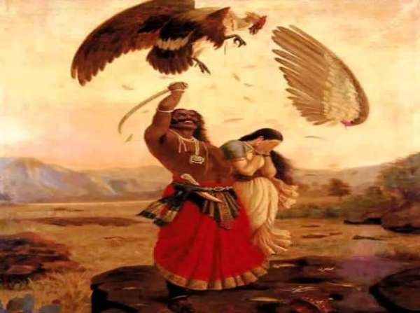 hindu mythological stories: story of jatayu and soorya ...