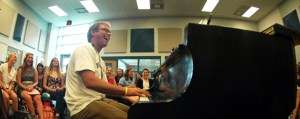 A Day in the Choir Room