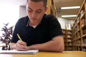 Senior Aims to Publish His Stories
