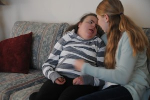 Sophomore Cares for Sister Surviving with Trisomy 18