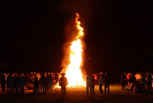 Gallery: Homecoming Bonfire
