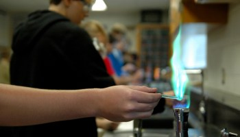 Gallery: Chemistry Flame Experiment | The Harbinger Online