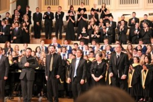 Choraliers Perform New Composition