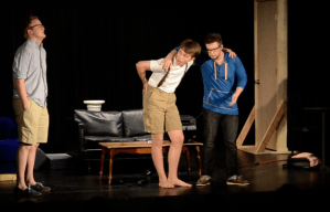 Repertory Theatre Shows: Day One