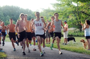 Cross Country Time Trials: Boys' Top Ten