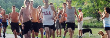 Varsity Cross Country Team Sweeps Topeka Meet