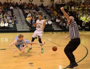 Package: Boys' Basketball vs. SM South