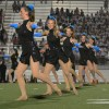 Lancer Dancers perform during halftime. Photo by Haley Bell.