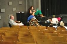 Theatre Kids rehearsing scripts.