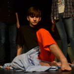 One of the major reasons Josh, freshman Jackson Engel, decides to shoot up his school is the bullying he received from the people around him. The taunting by the dead students represent his internal demons.