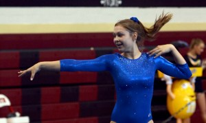 Gymnast Makes Time for High School Sports