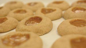Fall Recipe: Cinnamon Caramel Thumbprint Cookies