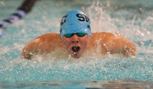Recap: Boy's Swim vs Olathe East