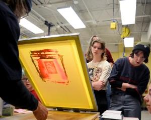 Gallery: Art Club Printmaking