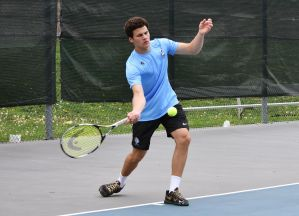 Boys' Tennis Wins District Tournament