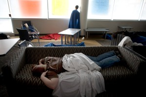 Technology Affecting Students' Sleep