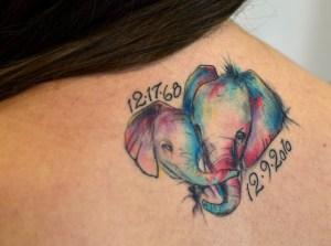 Junior Sophia Scarlett's Tattoo Tribute