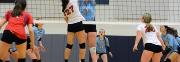 Gallery: Girls Volleyball Sophomore Team vs Olathe North