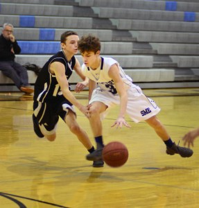 Gallery: Boys' Freshman-B Basketball vs Lawrence Free State