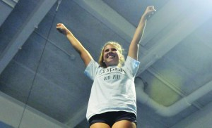 East Cheer Implements Strength Training to Decrease Injuries