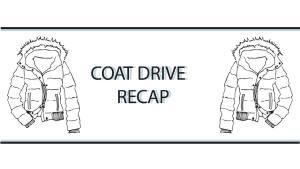 2019 Student Council Coat Drive Recap