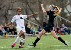 Gallery: Girls' C Team Soccer vs. Shawnee Mission West
