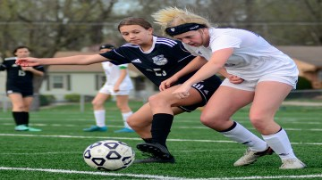 Gallery: Girls' C Team Soccer vs. Olathe North