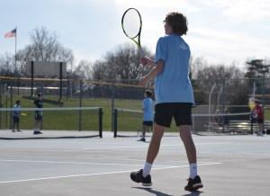 Gallery: Boys JV Tennis vs. Blue Valley West