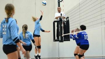 Gallery: Freshman Volleyball loses twice in triangular