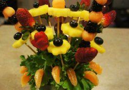Букет из фруктов