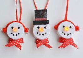 Светящиеся снеговики