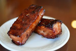Smoked Char Siu Pork Belly