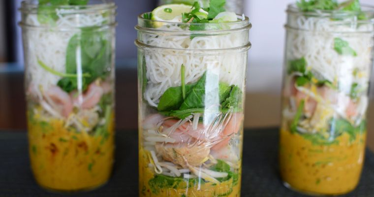 "Make Ahead ""Canned"" Laksa"
